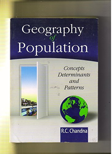 Geography Of populations R.C.Chandna