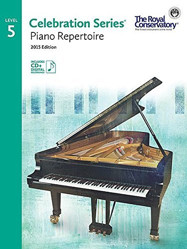 C5R05 - Royal Conservatory Celebration Series Piano Repertoire Level 5 Book/CD 2015 Edition  by  Royal Conservatory