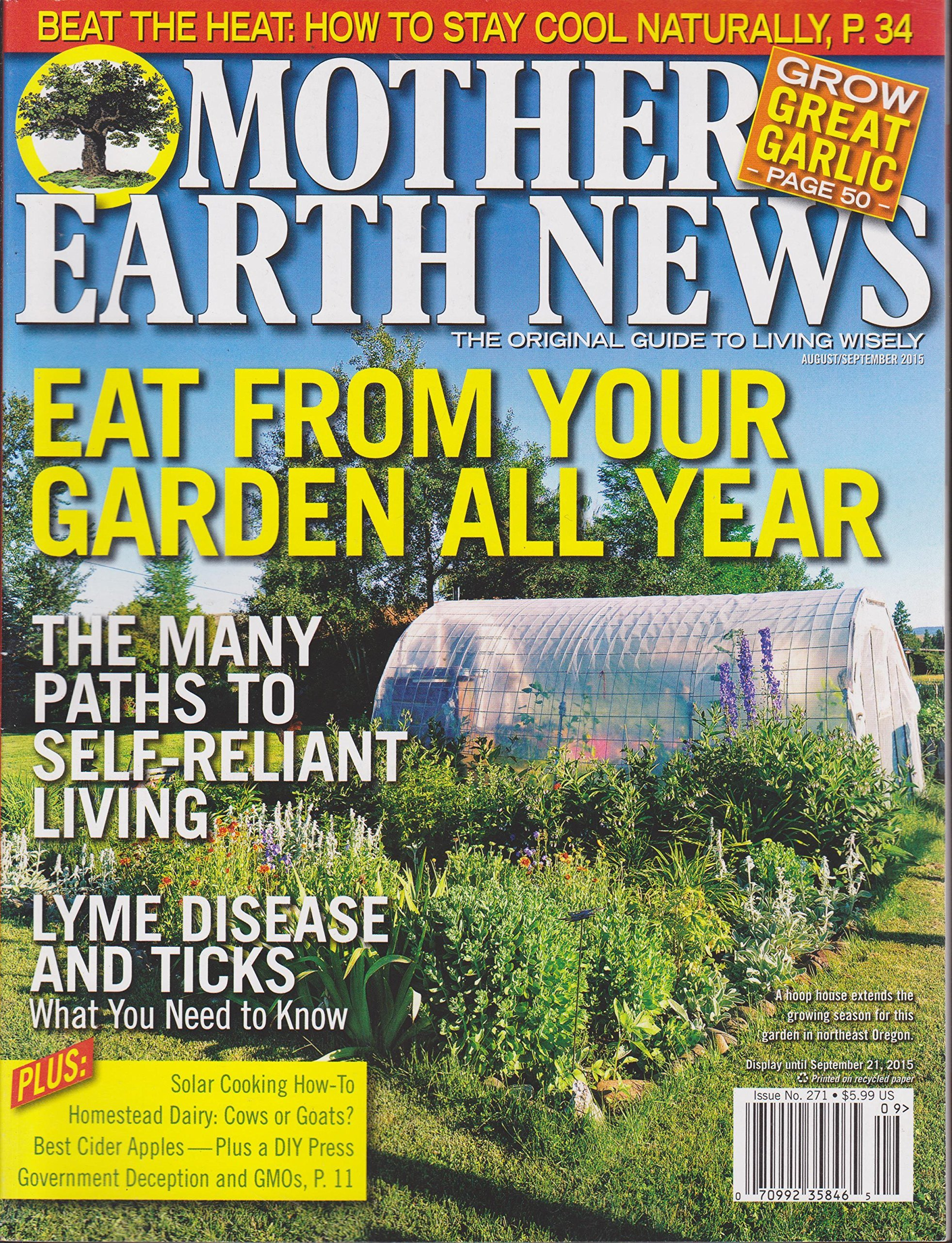 Mother Earth News August 2015/ September 2015  by  Various