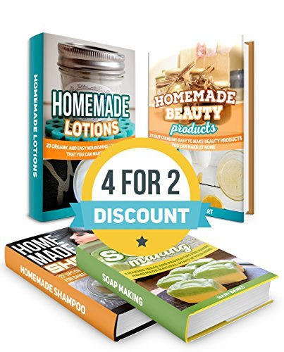 Homemade Beauty DIY Box Set: 42 Organic And Easy Homemade Product Recipes And 22 Amazing Tips On How To Make All Natural Soaps At Your Home Justin Coleman