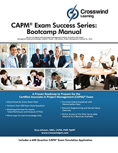 CAPM Exam Success Series: Bootcamp Manual with Exam Simulation Application  by  Tony Johnson