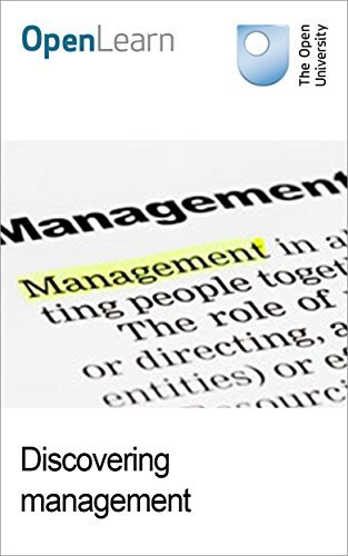 Discovering management The Open University