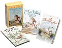 Three Beloved Classics by E.B. White: Charlotte's Web, Stuart Little, and The Trumpet of the Swan (Boxed Set)