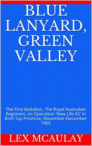 Blue Lanyard, Green Valley: The First Battalion, The Royal Australian Regiment, on Operation New Life 65 in Binh Tuy Province, November-December 1965  by  Lex McAulay