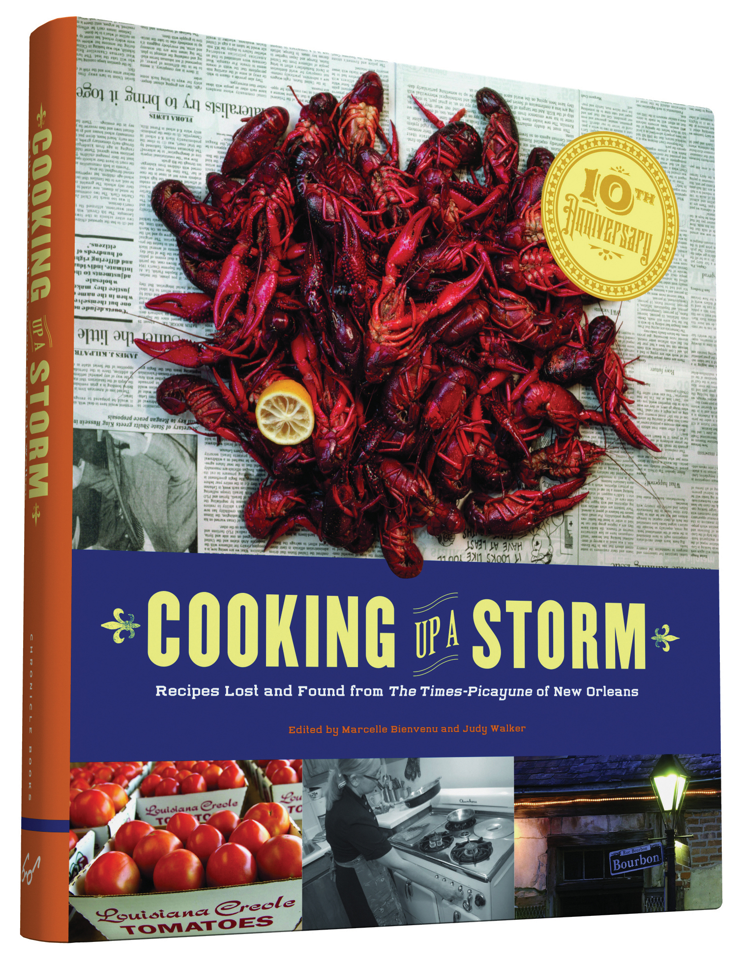 Cooking Up A Storm: Recipes Lost and found from the Times-Picayune of New Orleans  by  Marcelle Bienvenu