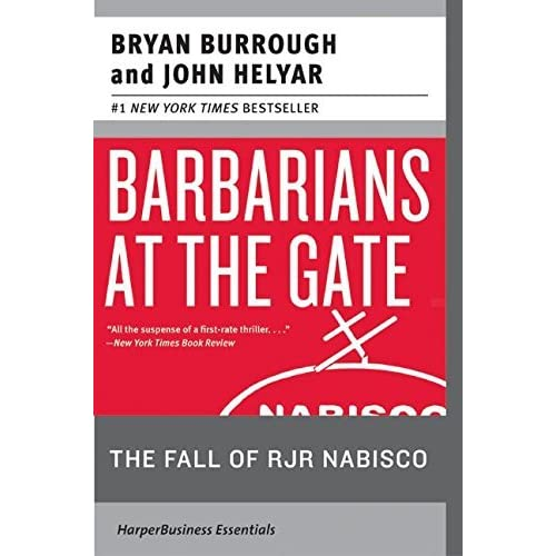 rjr nabisco His high-profile buyout battle for rjr was depicted in barbarians at the gate.