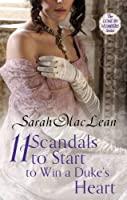 Eleven Scandals to Start to Win a Duke's Heart: Number 3 in series (Love by Numbers)