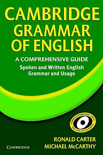 Cambridge Grammar Of English A Comprehensive Guide W/Cd  by  McCarthy