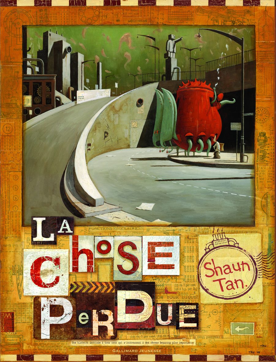 La chose perdue  by  Shaun Tan