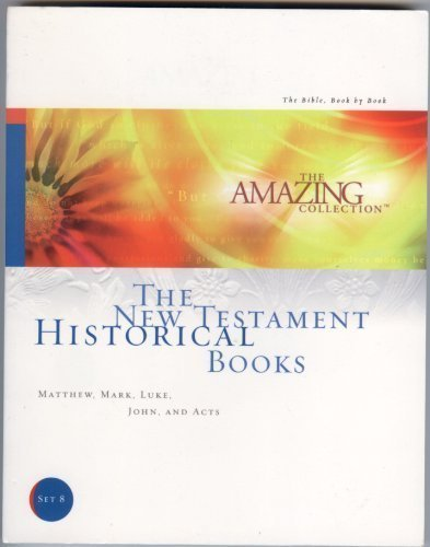 THE AMAZING COLLECTION SET 8 MATTHEW MARK LUKE JOHN AND ACTS (THE NEW TESTAMENT HISTORICAL BOOKS)  by  MATTHEW MCLEROY