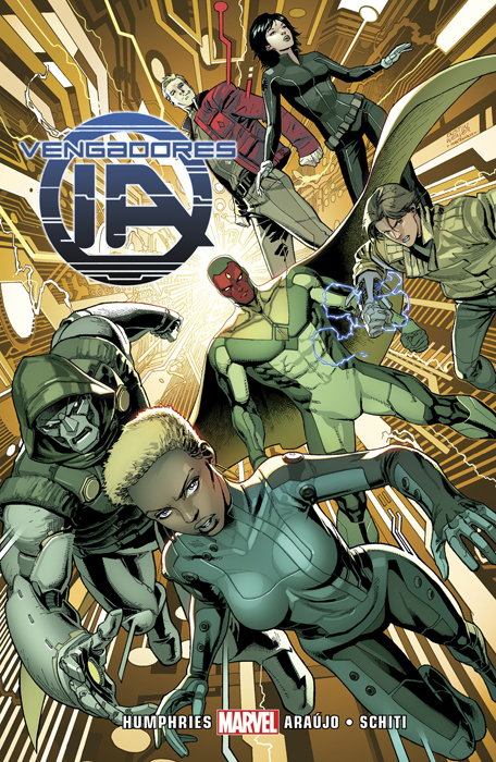 Vengadores Inteligencia Artificial: Integral (Avengers A.I., #1-2)  by  Sam Humphries