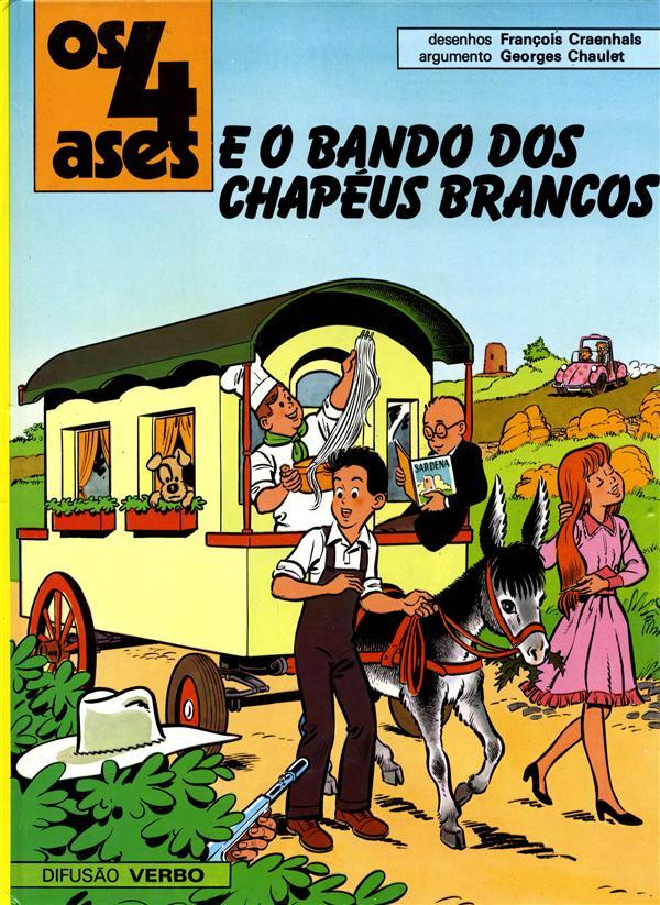 Os 4 Ases e o bando dos chapéus brancos (Os 4 Ases, #15)  by  Georges Chaulet