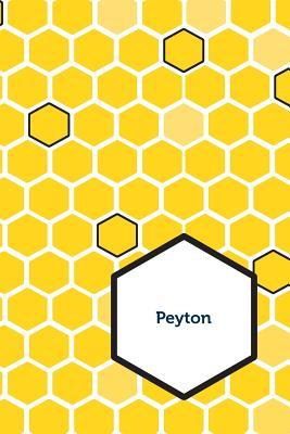 Etchbooks Peyton, Honeycomb, College Rule  by  Etchbooks