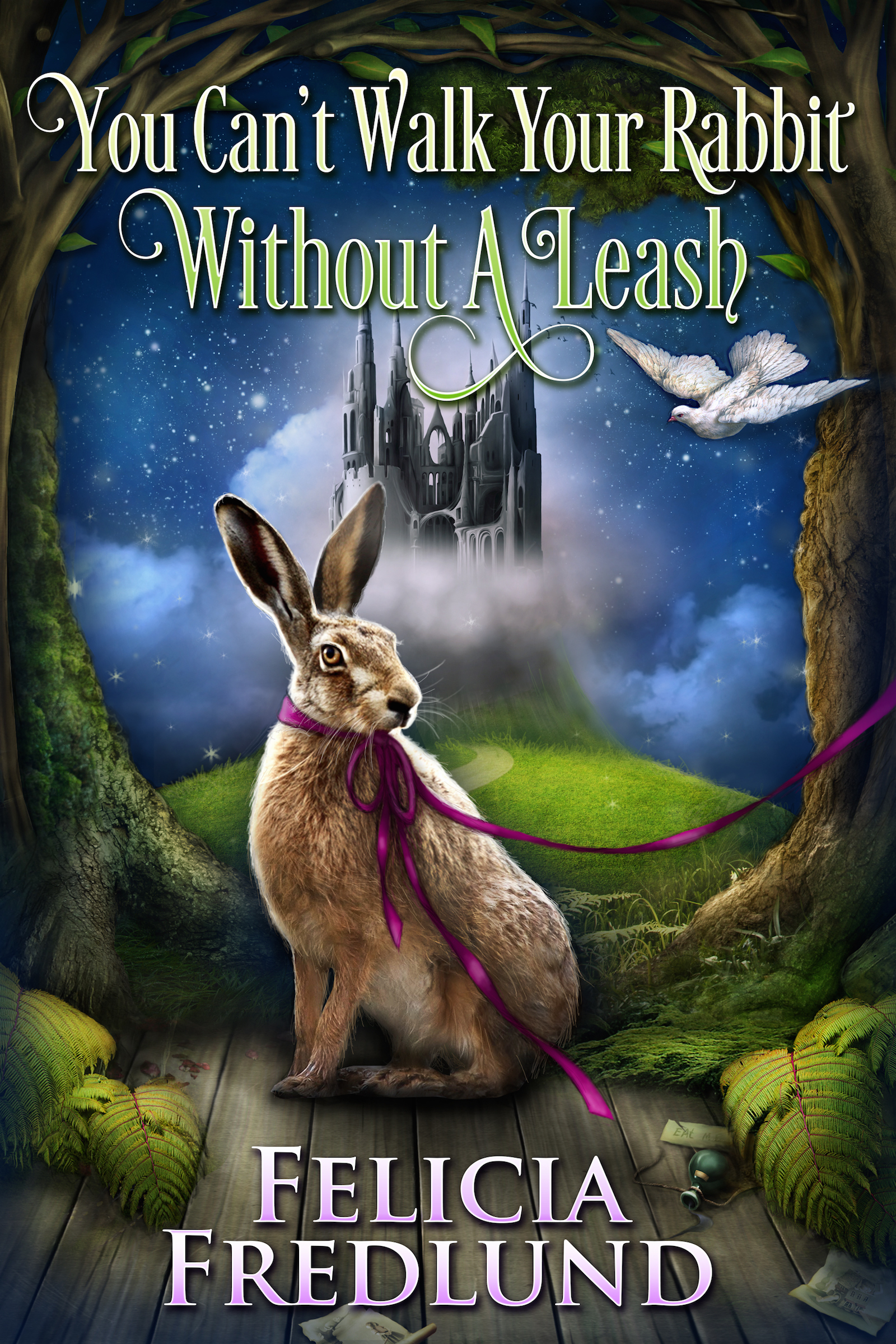 You Cant Walk Your Rabbit Without a Leash  by  Felicia Fredlund
