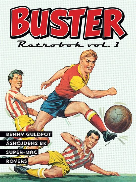 Buster Retrobok vol 1  by  Tony Ernst