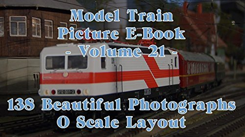 Model Train Picture E-Book - 138 Beautiful Photographs O Scale or 0 Gauge Layout - Volume 21 Pilentum Television