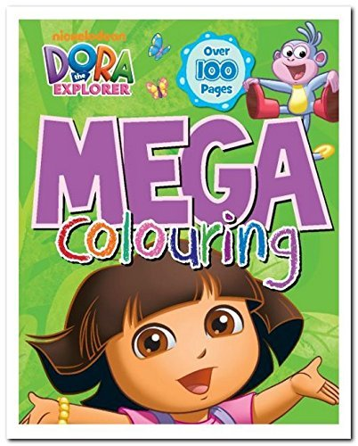 Dora The Explorer Mega Colouring  by  Nickelodeon