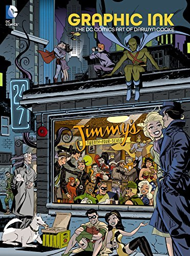 Graphic Ink: The DC Comics Art of Darwyn Cooke  by  Darwyn Cooke