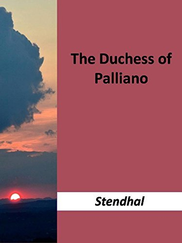 The Duchess of Palliano  by  Stendhal