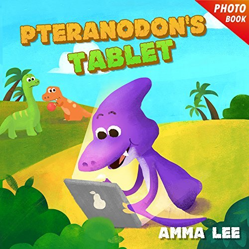 Pteranodons Tablet  by  Amma Lee