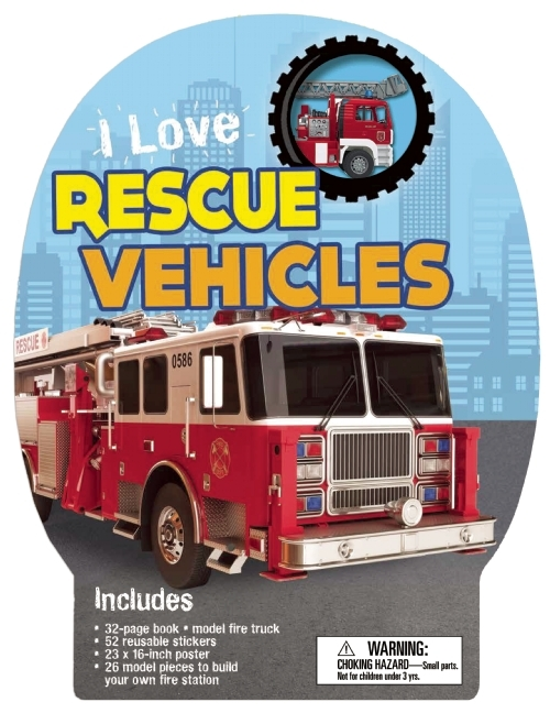 I Love Rescue Vehicles  by  Chris Oxlade