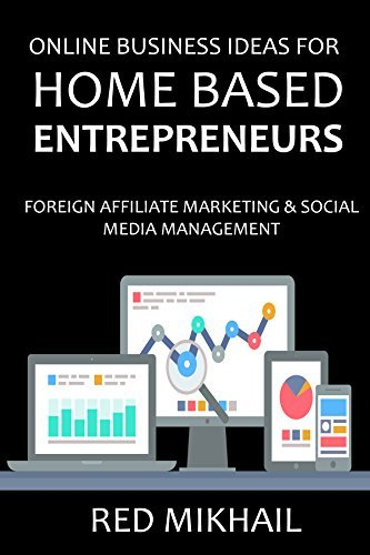 2016 ONLINE BUSINESS IDEAS FOR HOME BASED ENTREPRENEURS: FOREIGN AFFILIATE MARKETING + SOCIAL MEDIA MANAGEMENT - THE EASY WAY  by  Red Mikhail