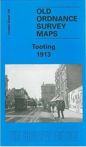 Tooting 1913: London Sheet 134.3  by  J. W. Brown