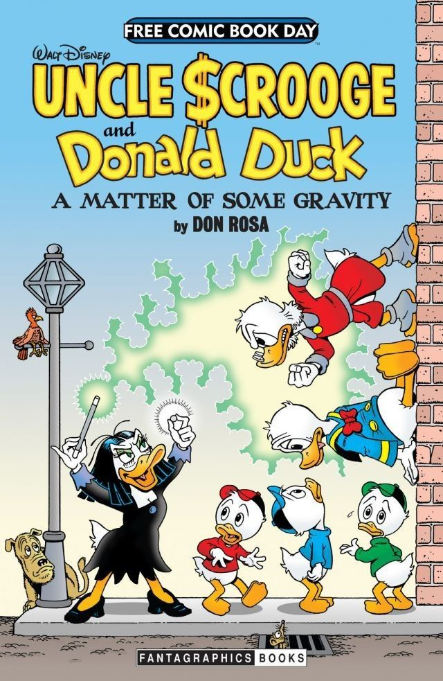 FCBD 2014: Don Rosas Uncle Scrooge and Donald Duck - A Matter of Serious Gravity Don Rosa