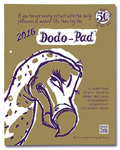 Dodo Pad Loose-Leaf Desk Diary 2016 - Week to View Calendar Year Diary: A Combined Family Diary-Doodle-Memo-Message-Engagement-Organiser-Calendar-Book Naomi McBride
