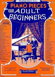 Piano Pieces For Adult Beginners  by  Wise Publications
