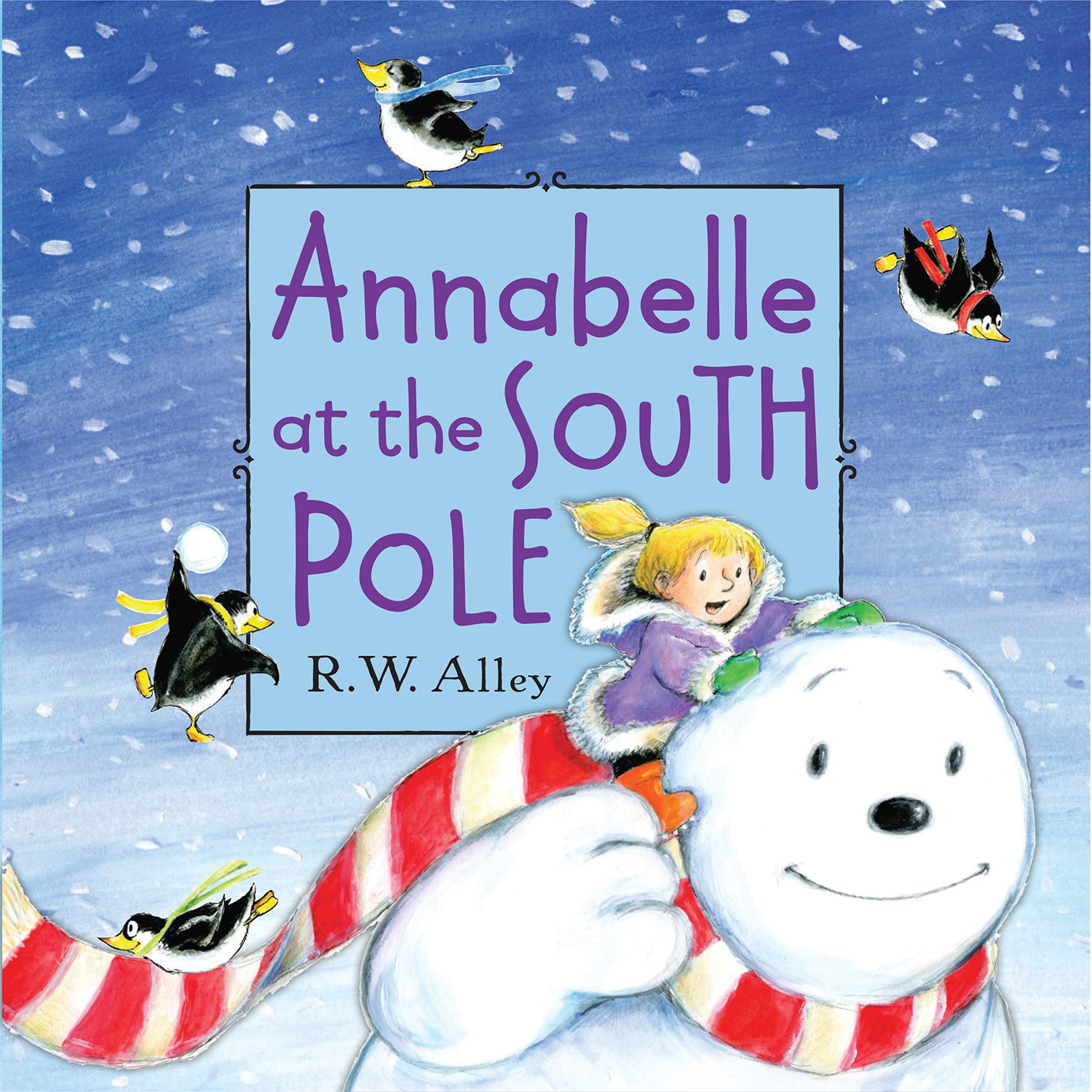 Annabelle at the South Pole  by  R w Alley