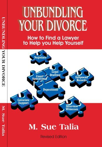 Unbundling Your Divorce  by  M. Sue Talia