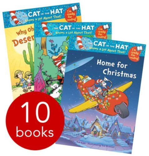 Dr Seuss Cat in the Hat Early Readers Collection (10 Books). RRP £39.90 Bonnie Worth