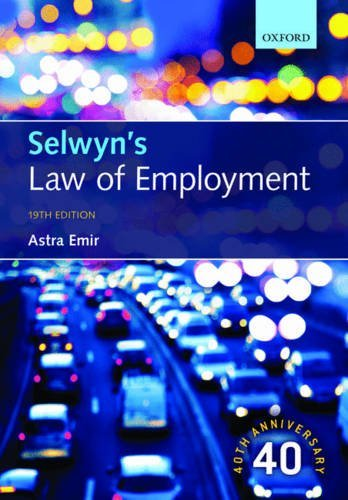 Selwyns Law of Employment  by  Astra Emir