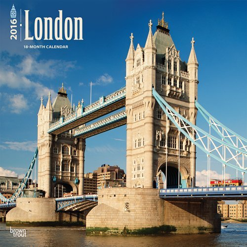 London 2016 Square 12x12  by  Browntrout Publishers