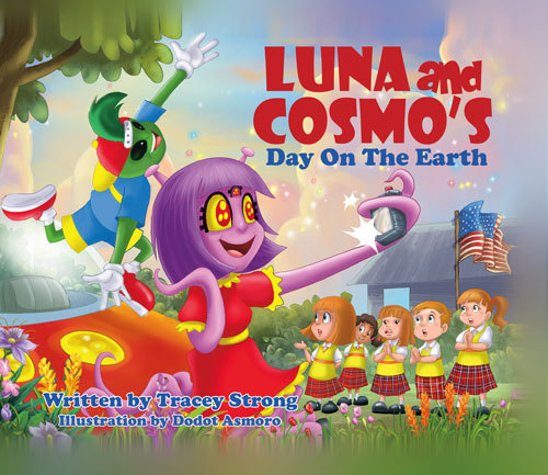 Luna and Cosmos Day On the Earth Tracey Strong