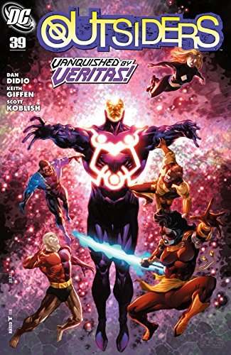The Outsiders (2007-) #39  by  Dan DiDio
