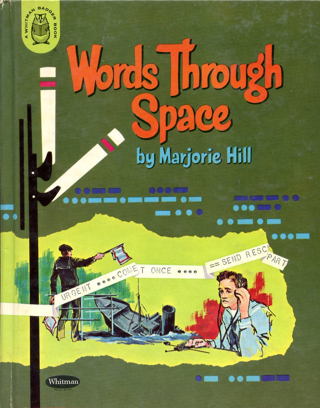 Words Through Space  by  Marjorie Hill