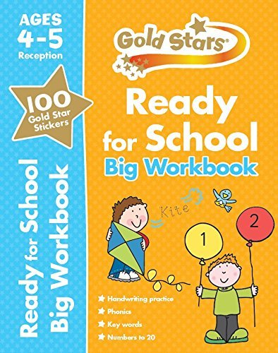 Gold Stars Ready for School Big Workbook Ages 4-5  by  Parragon