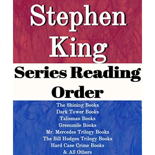 Book Cover Series Order : Stephen king series reading order list the