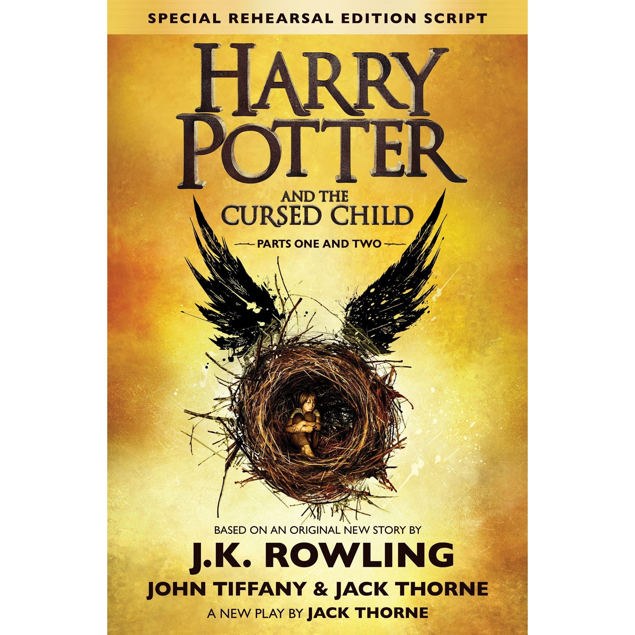 Harry Potter Book Goodreads : Harry potter and the cursed child by j k rowling