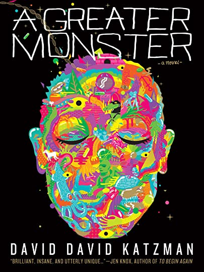 A Greater Monster Cover design