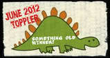 June 2012 toppler Something Old