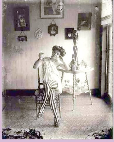 Bellocq photo of a Storyville prostitute
