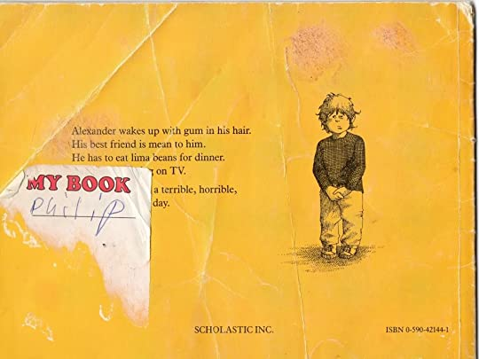 Scanned picture of my old book with sticker peeling off