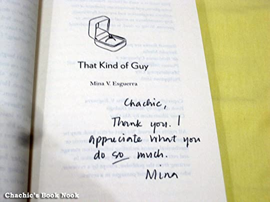 signed copy of That Kind of Guy