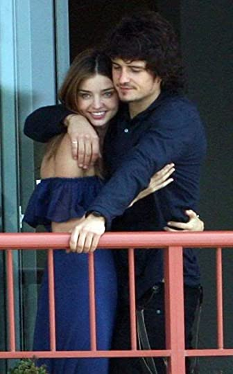 Orlando Bloom & Miranda Kerr Pictures, Images and Photos