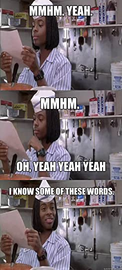 Kel knows some of these words.