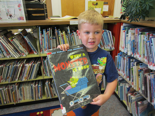 Fritz & His Monster Book