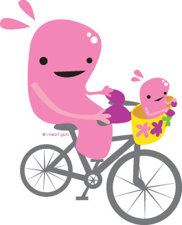 Uterus on a bike